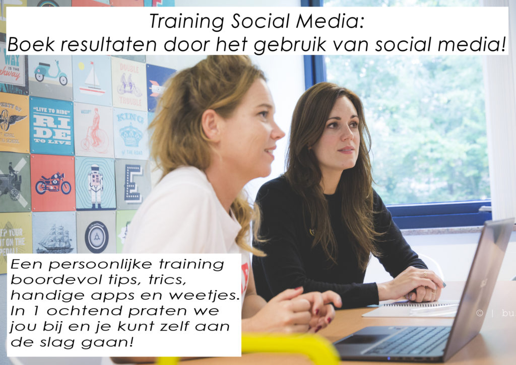 Training Social Media tekst 2018